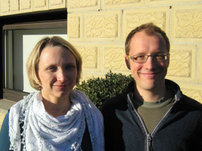 Ihr Gastgeber Alexander und Luisa Nickel