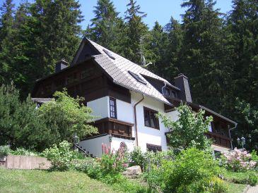 Ferienwohnung Haus in der Natur mit Gartenblick