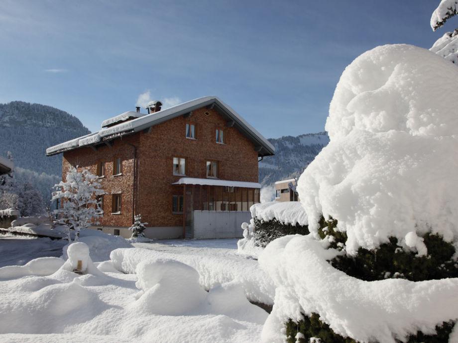 Haus Isabella im Winter