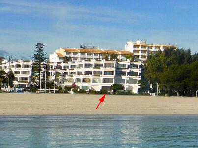 Alcudia am direkt Strand