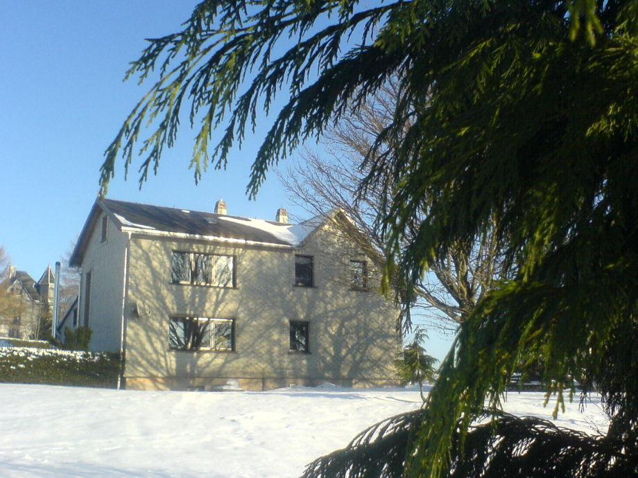 Gästehaus Blau im Winter