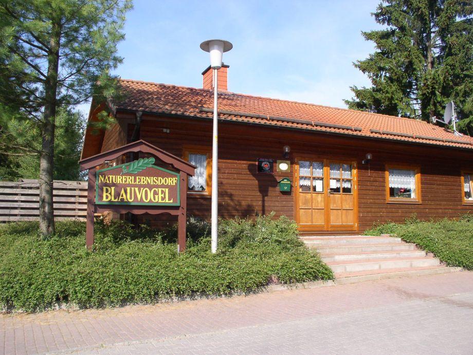 Herzlich Willkommen im Harz  - Rezeptionsgebäude