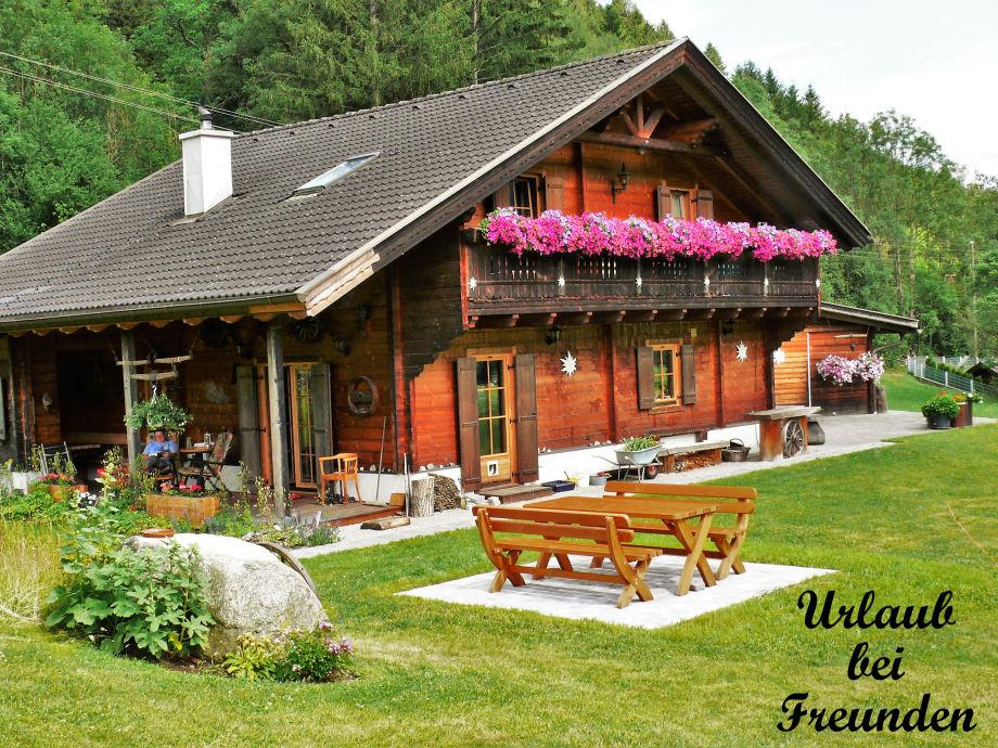 """""""Holzblockhaus"""" Sommer"""