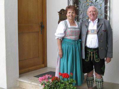 Ihr Gastgeber Ingeborg und Richard Dietzsch