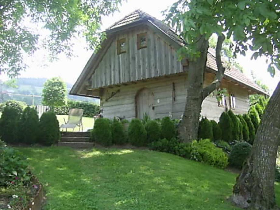 """Ferienhaus Holzhaus """"Troadkasten"""""""