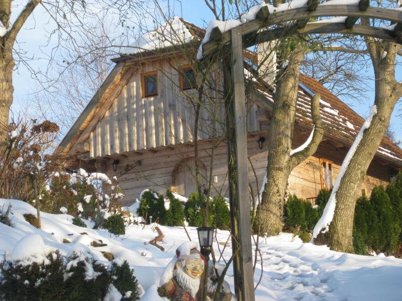 """Ferienhaus Nussbaumerhof - Holzhaus """"Troadkasten"""""""