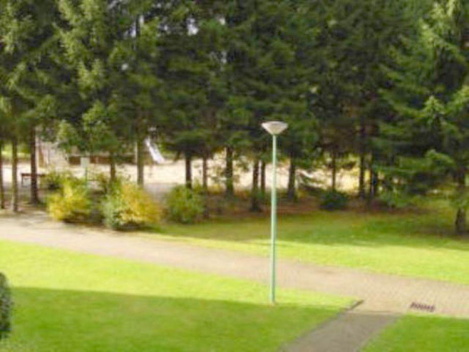 Viel Grün im Ferienpark