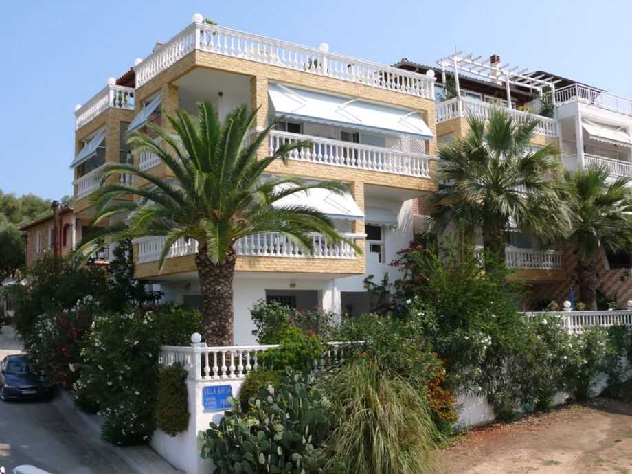 Ansicht der Villa Anesa