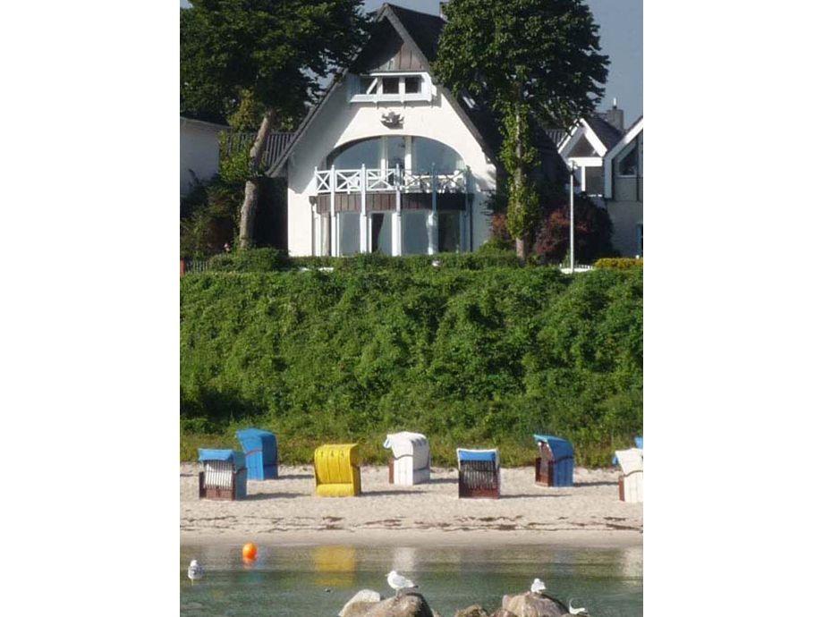 Ihr Ferienhaus direkt an der Ostsee -Strand vor der Tür