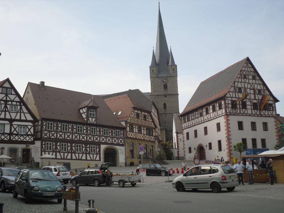 Ferienwohnung Steigerwaldblick  Zeil Am Main  Hassberge