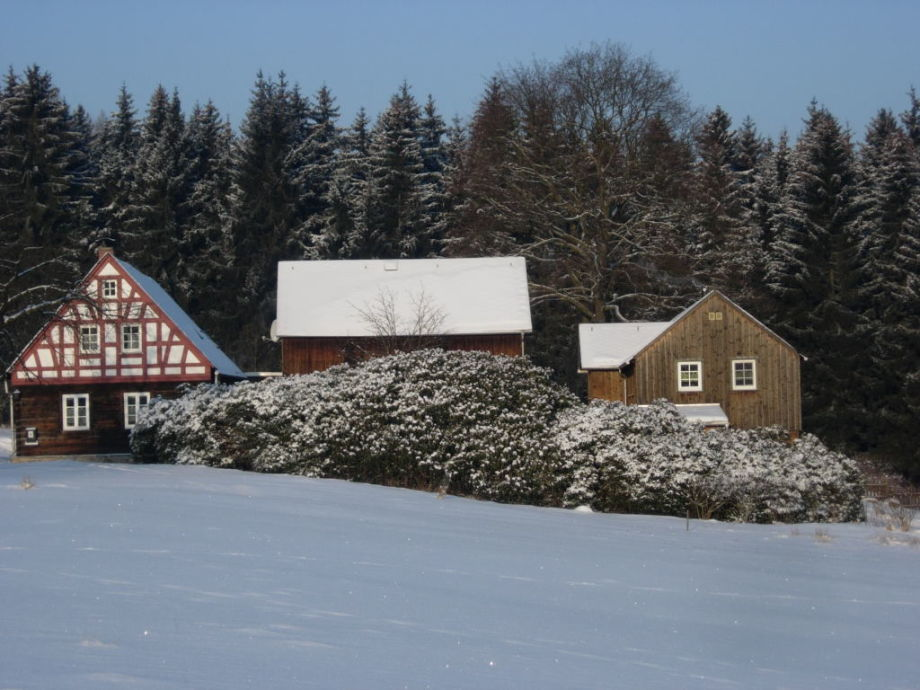 Ferienhof Zollfrank in Winterstimmung