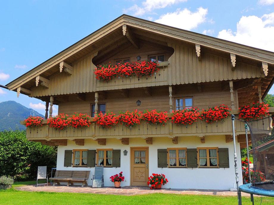 Aussenansicht Ferienhaus Bichlmair