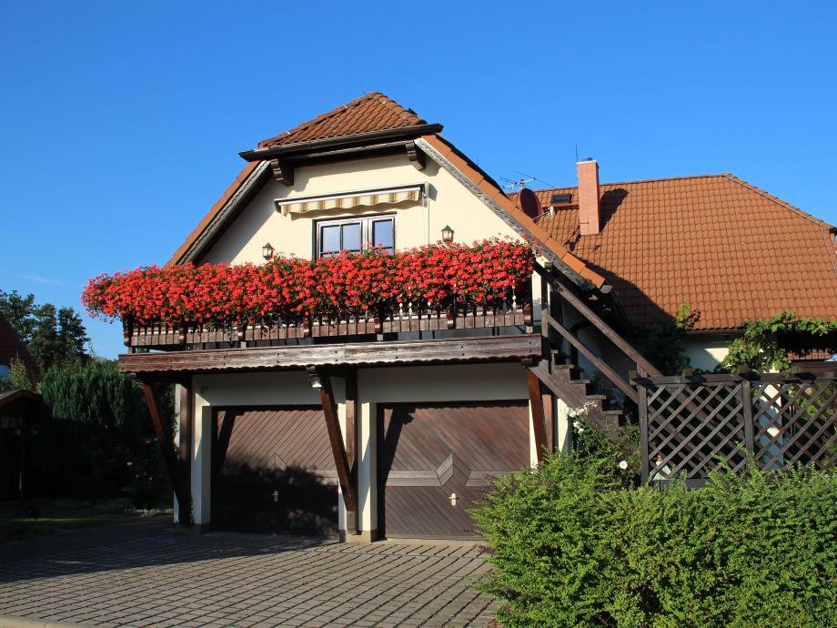 Balkon mit Eingang