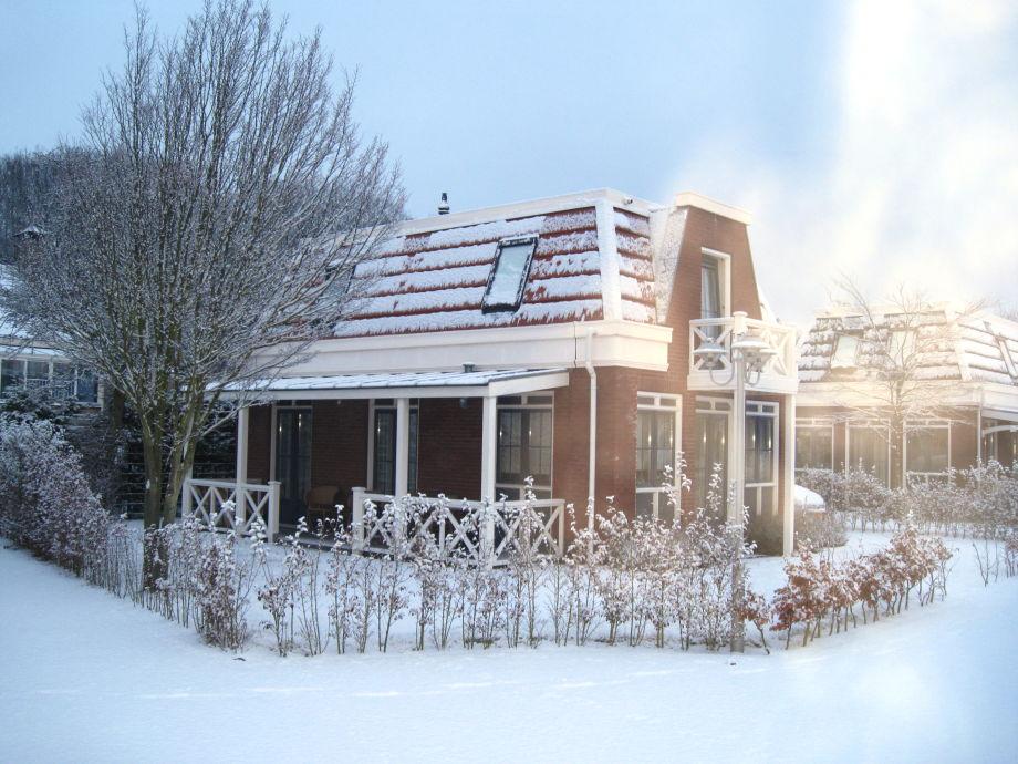 Ferienhaus Tulp & Zee im Winter