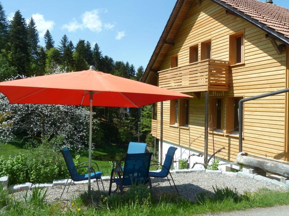 Ferienhaus mit Sitzplatz