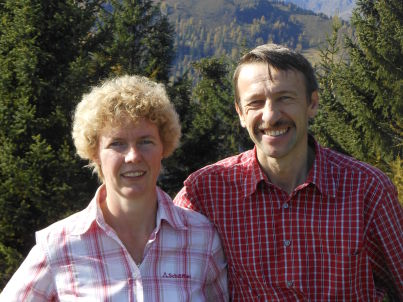 Ihr Gastgeber Josef und Monika Steiner