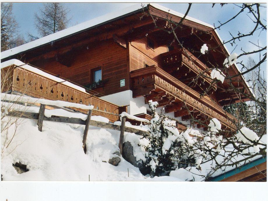 Apartementhaus Hofer im Winter