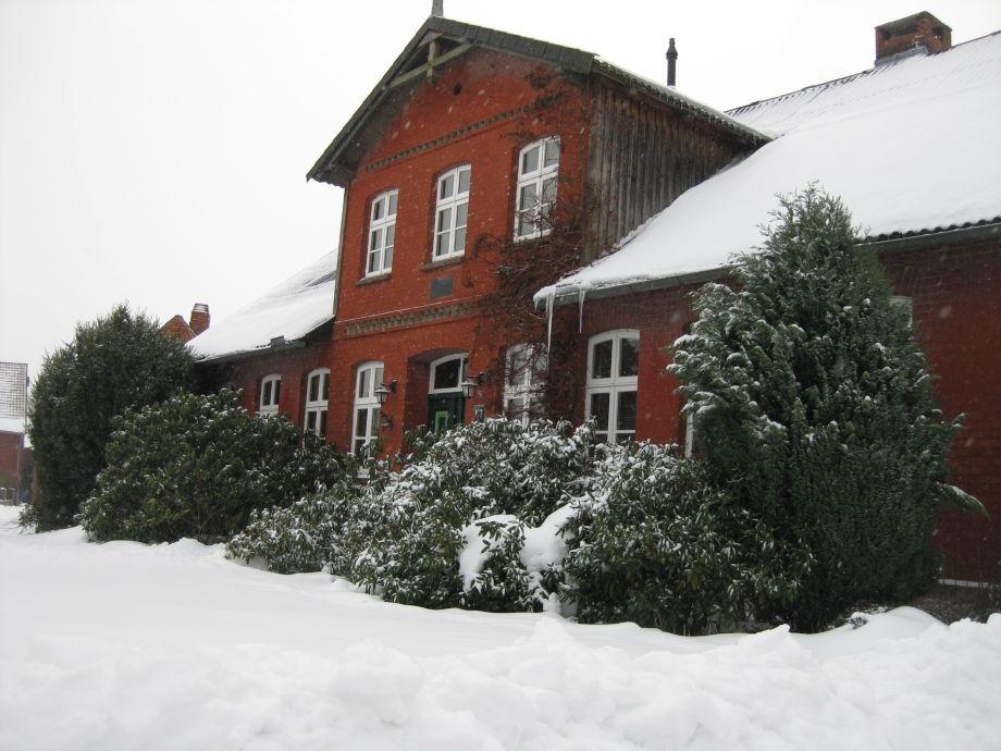Hof Marunde im Winter