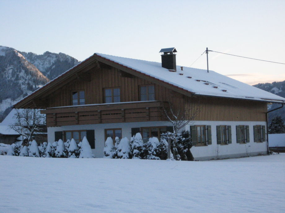 Winter Terrasse hinten