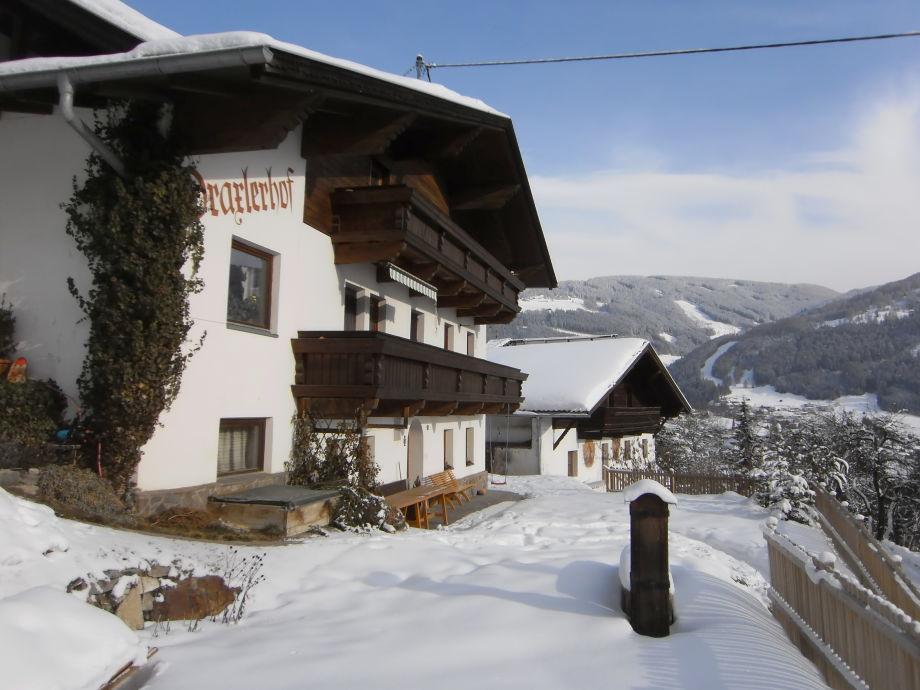 Draxlerhof im tiefen Winter