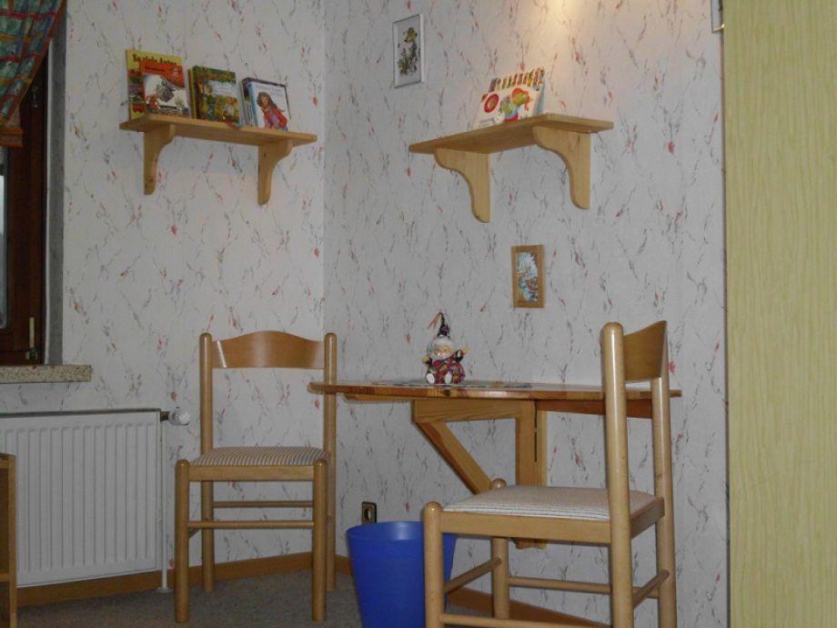 Ferienwohnung zum riesbach harz frau antje wolgast - Sitzecke kinderzimmer ...