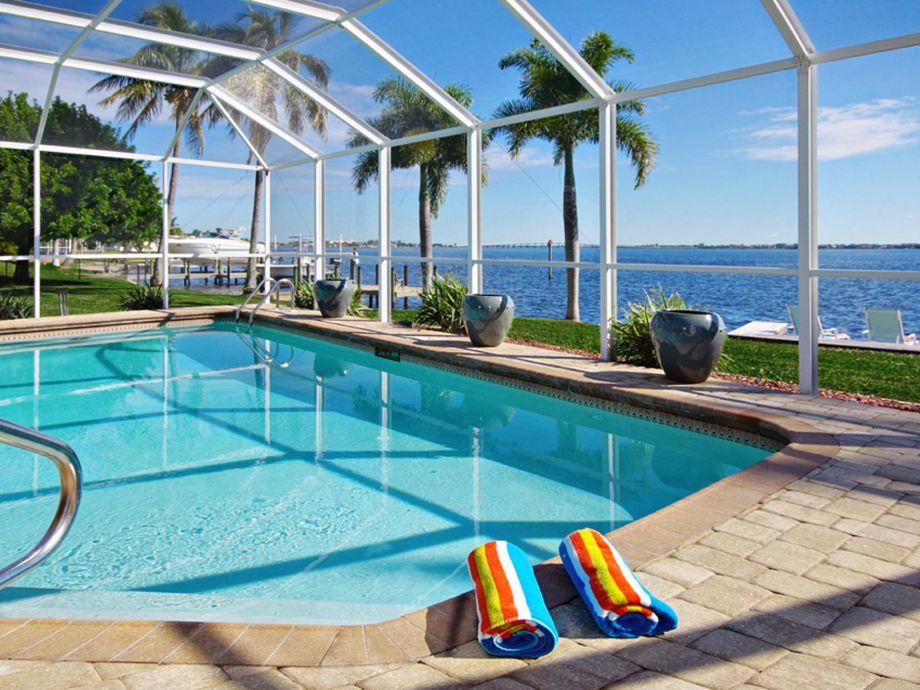 Villa mit einzigartigem Charme in Cape Coral, Florida