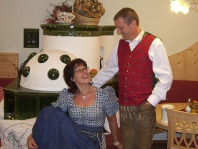 Your host Hermann und Marlene Oberreiter