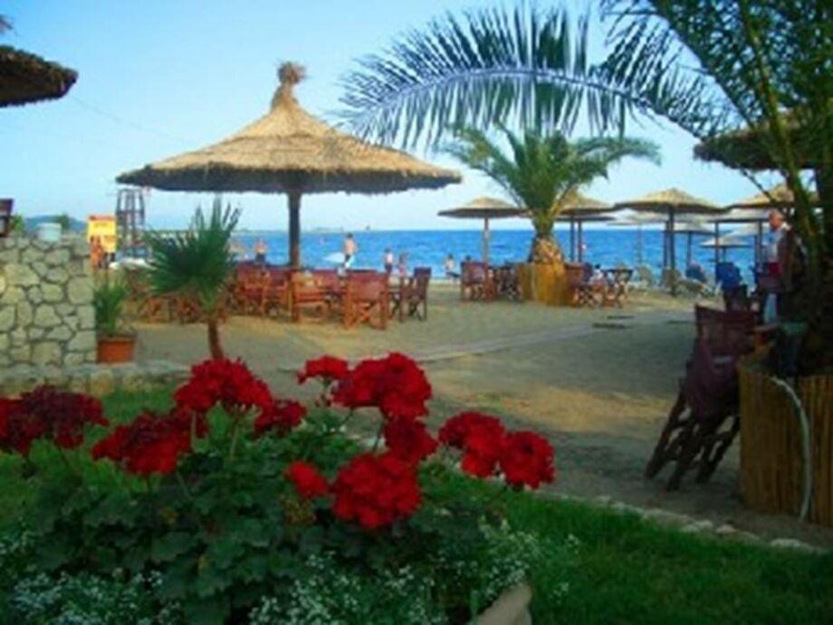 Strandcafe vom Del Mar Haus
