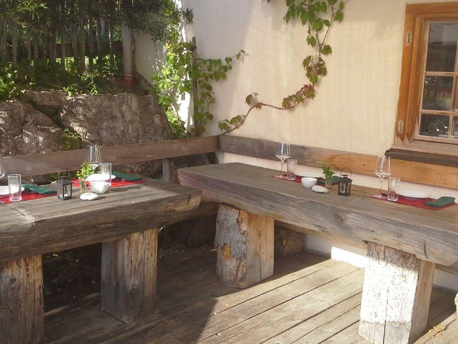 Terasse Gasthaus Morent
