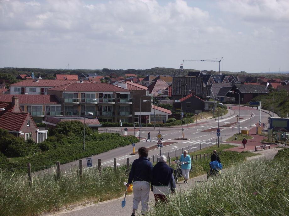 Ansicht der Anlage vom Strandübergang
