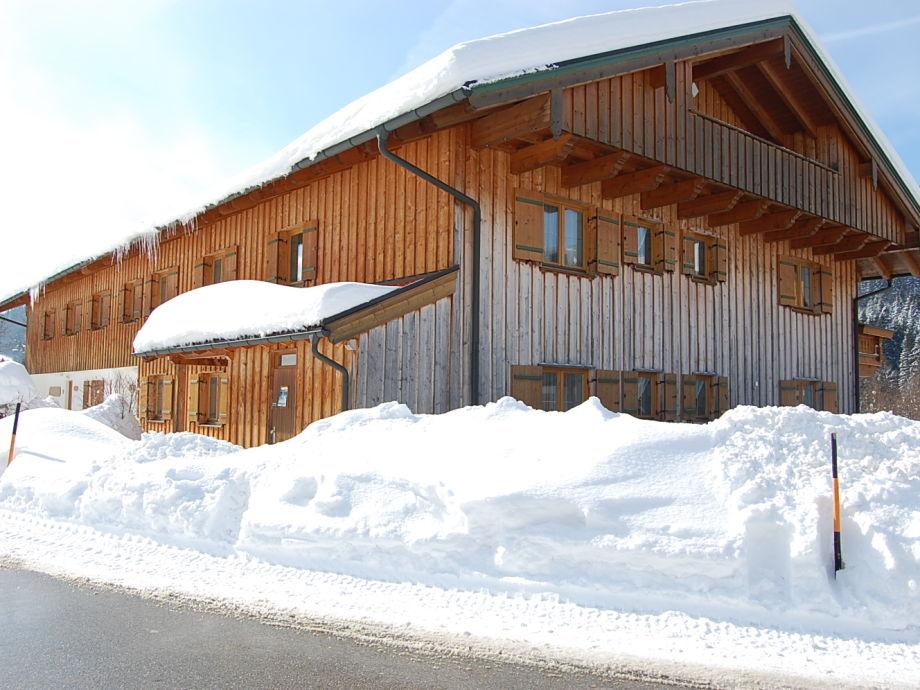 Haus Brandelberg im Winter