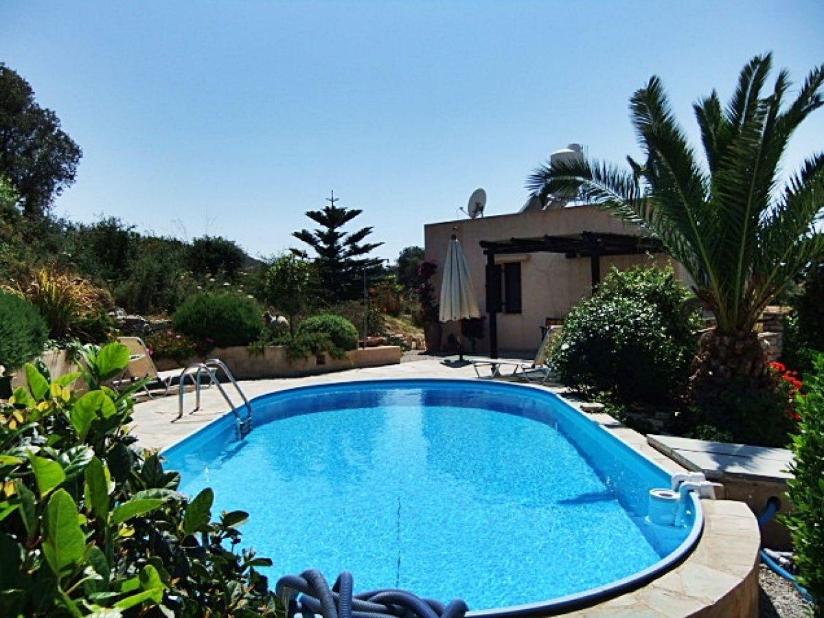 Ferienhaus villa mandrakia kamilari herr paul van olmen - Formentera ferienhaus mit pool ...