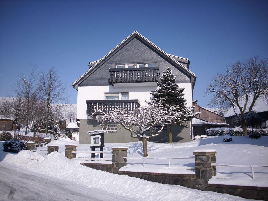 Haus Kaiser im Winter