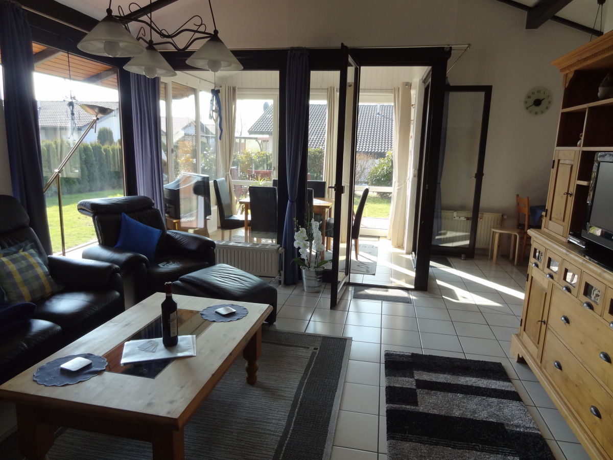 Ferienhaus j 4 mit wintergarten und ofen nordseehalbinsel - Traum wohnzimmer ...