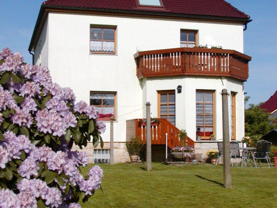 Haus mit Eingang Ferienwohnung