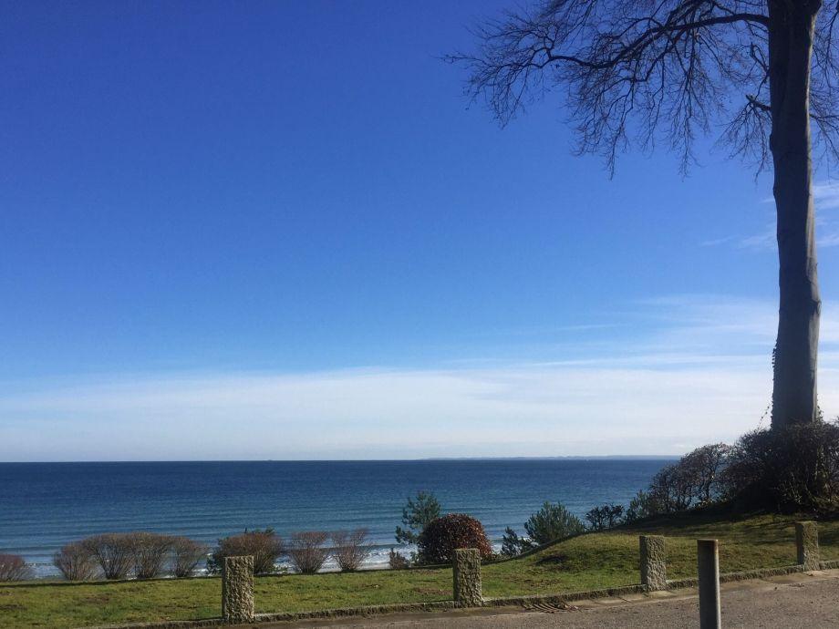 Dem Meer so nah....Blick von der Terrasse