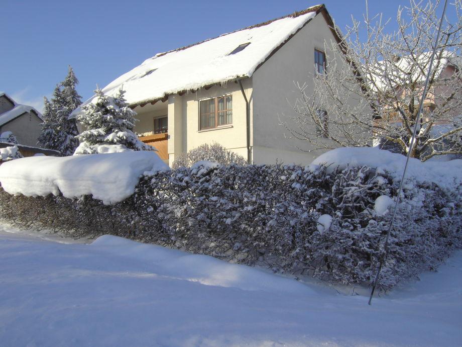 Haus im Winterzauber