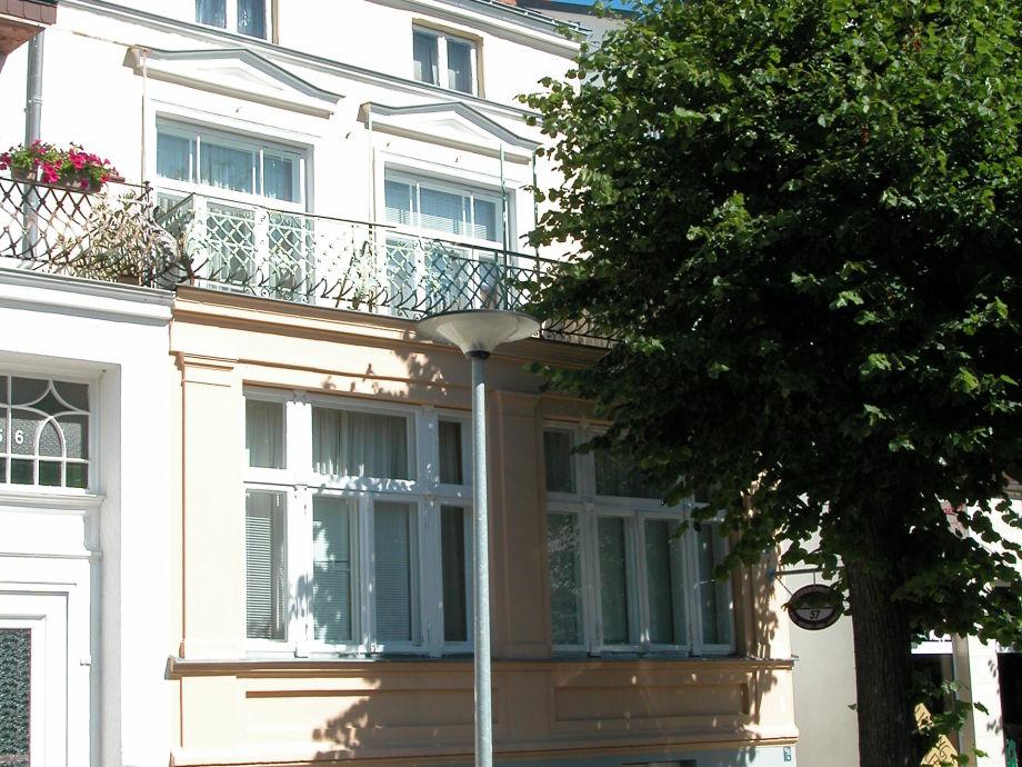 Friedrich-Franz-Straße in Warnemünde