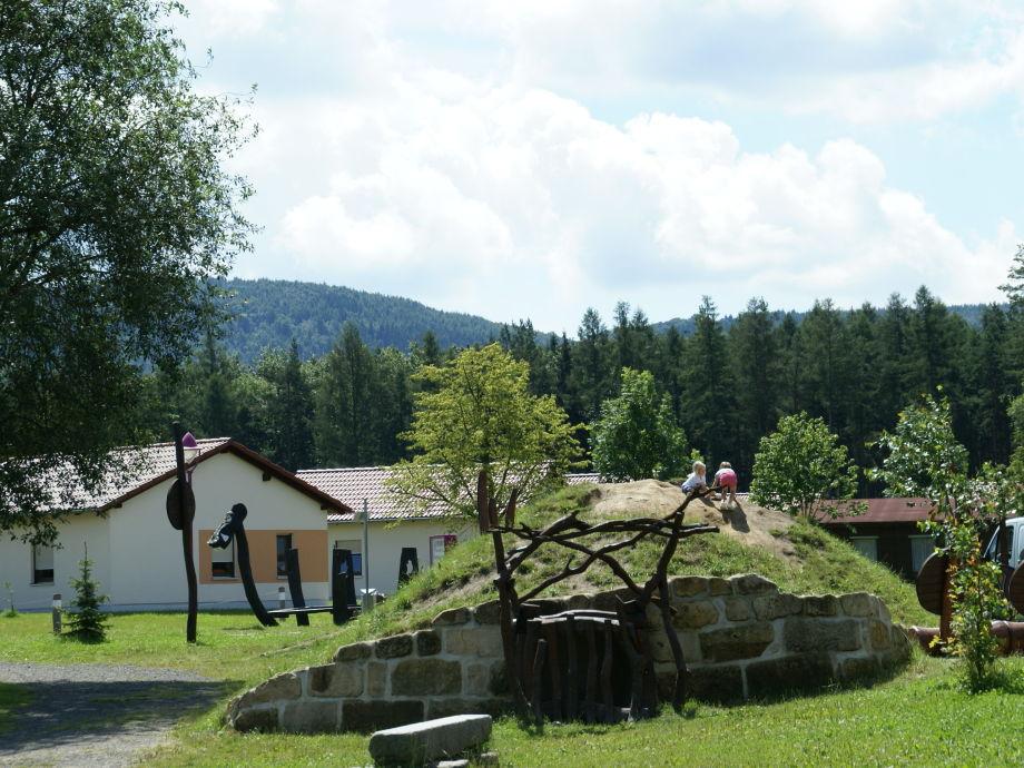 """Außenaufnahme """"Töpferblick"""" at TRIXI-Park Zittauer Gebirge"""