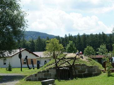 """Holiday house """"Töpferblick"""" at TRIXI-Park Zittauer Gebirge"""