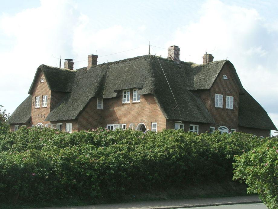 Haus Friesenhof in Rantum/Sylt - von der Wattseite