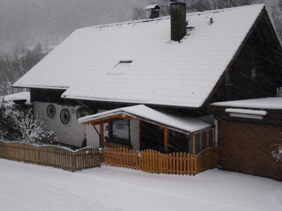 Haus Eitel im Winter
