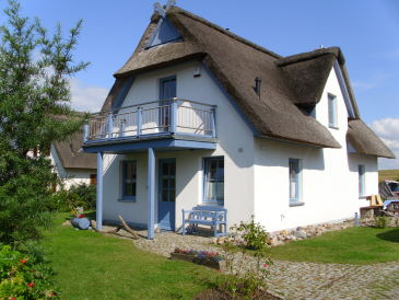 Holiday house Sonnenberg thatched roof