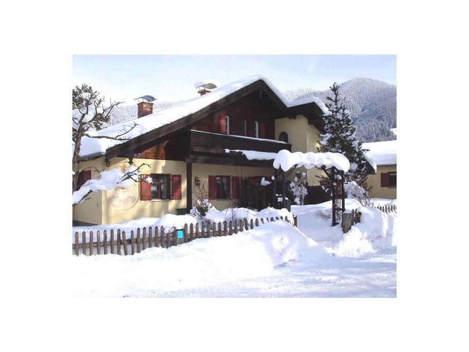 Fereinhaus Haus Himmelreich im Winter