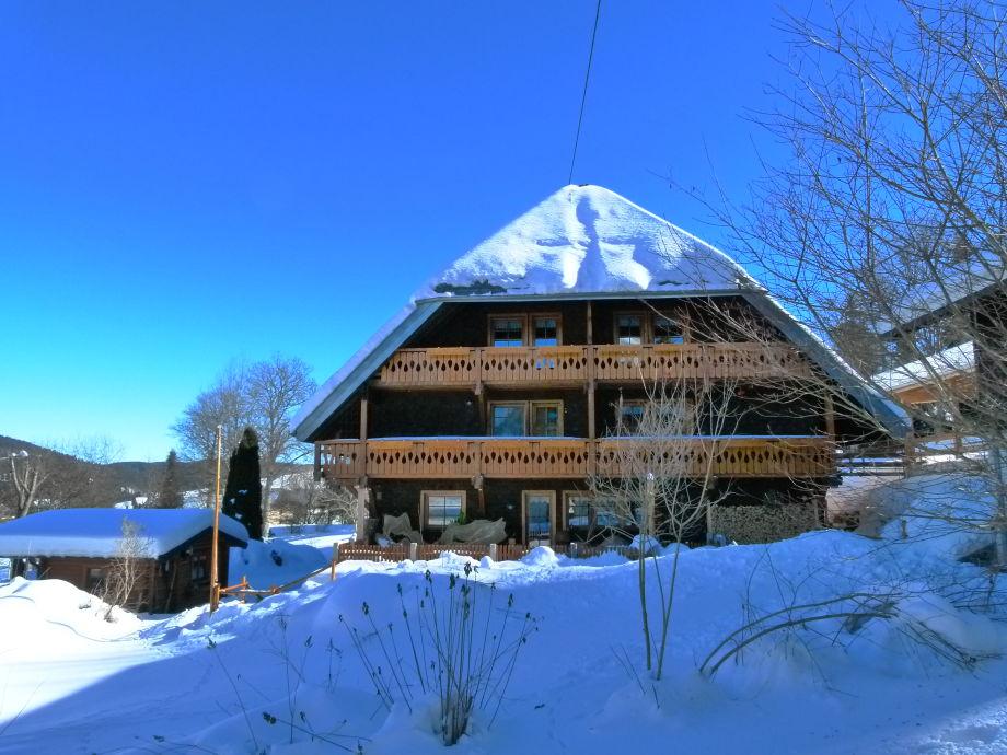 Ferienhaus Panoramablick im Winter
