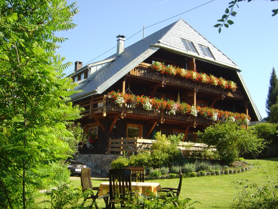 Haus Panoramablick im Sommer