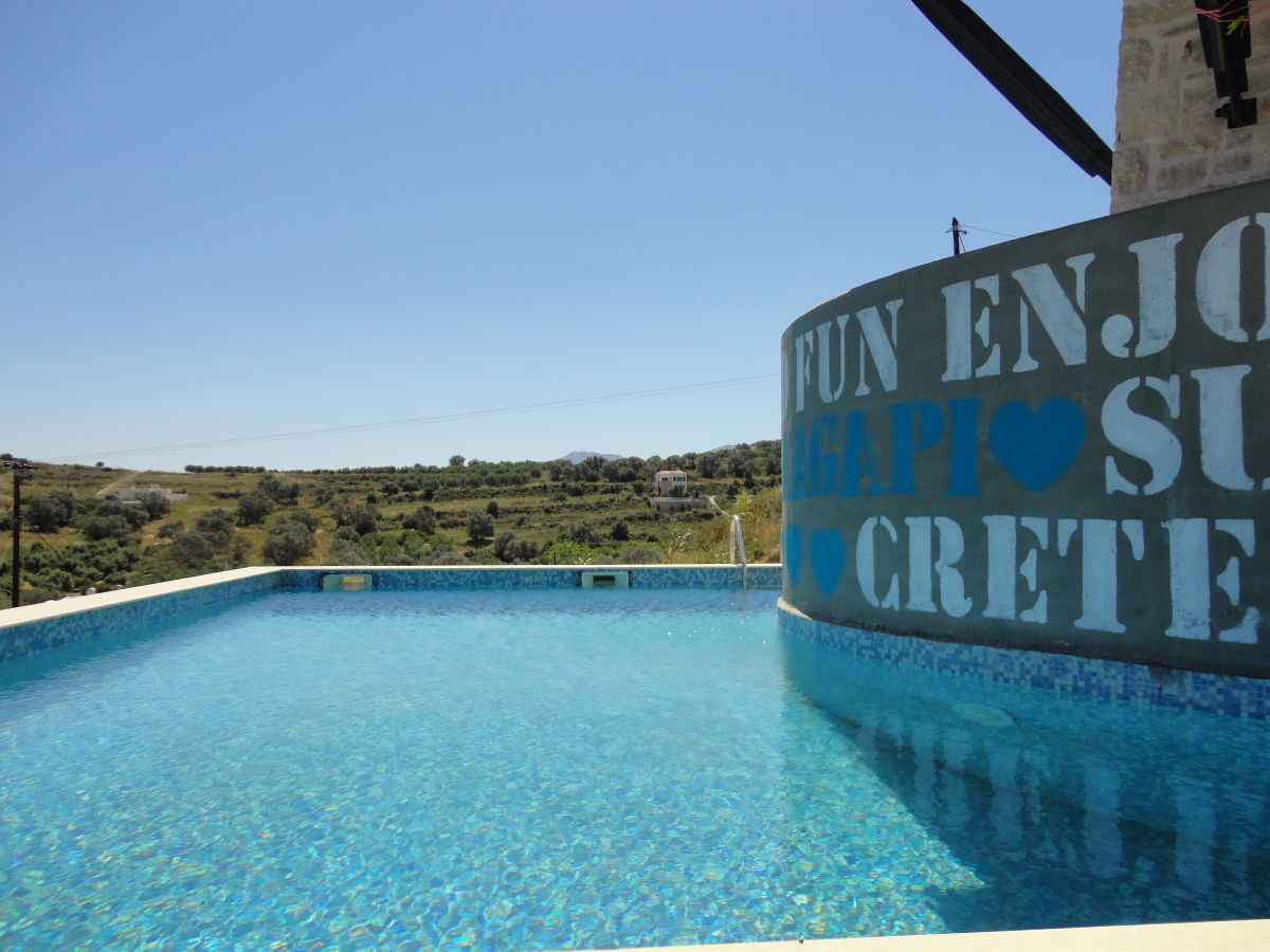 Attached Swimming Pool : Holiday house villa agapi crete ms danilatou aggeliki