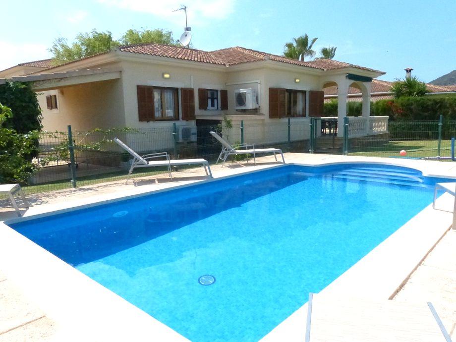 Ferienhaus Sagoplaya mit Pool