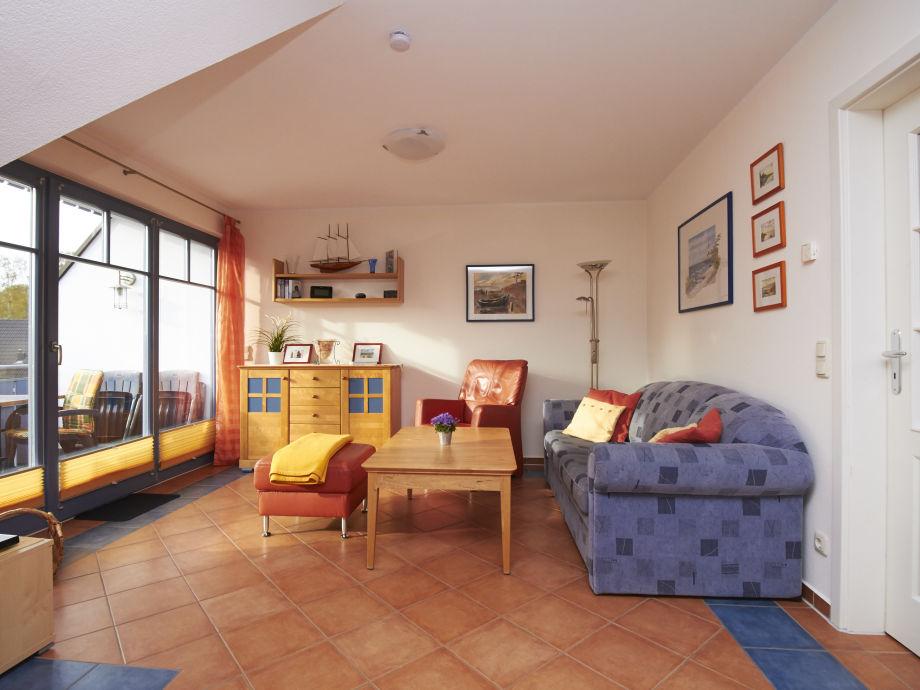 Das große helle Wohnzimmer