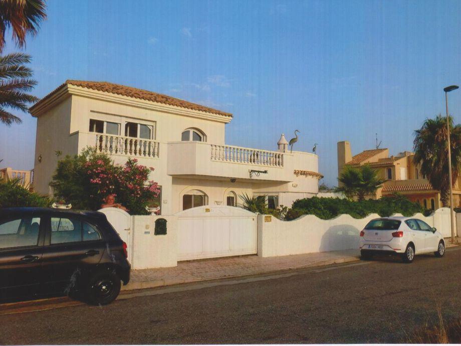 Außenaufnahme Penthouse in der Villa Romantica mit Meerblick